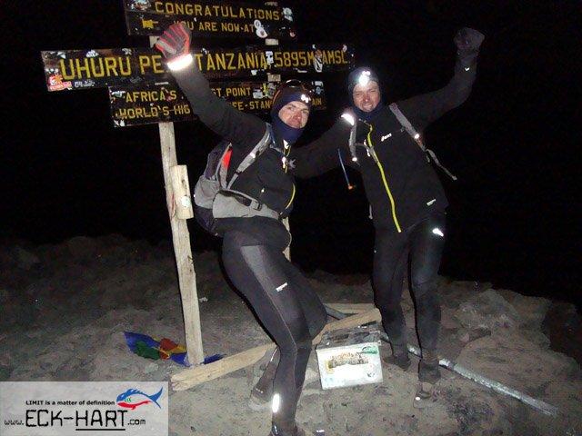 Andreas und Gerhard am Gipfel
